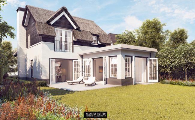 Klaartje Rutten – Interieurarchitect – klaartjerutten.be – Villa Blaricum 001