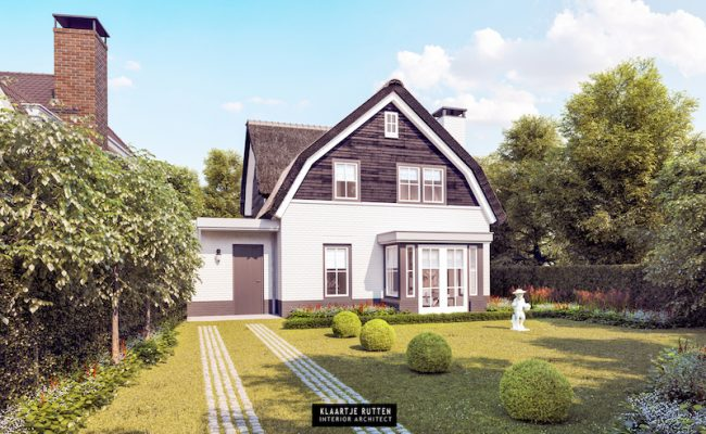 Klaartje Rutten – Interieurarchitect – klaartjerutten.be – Villa Blaricum 002